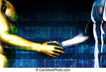 Science Futuristic Technology