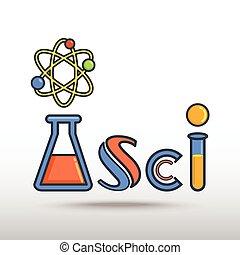science, icône