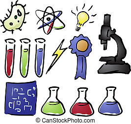 Science icons - Science icon set