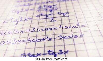 Science Mathematics 7 - Science Mathematics Formulas macro...