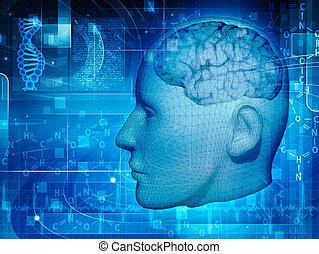 science, milieux conception, ton, recherche
