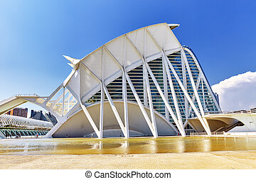 Science Museum  - City of Arts and Sciences ,Valencia