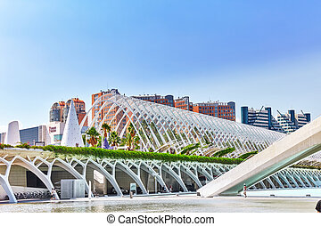 Science Museum  - City of Arts and Sciences ,Valencia.