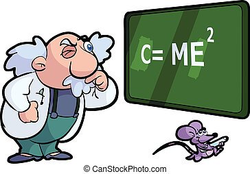 science, prof, souris