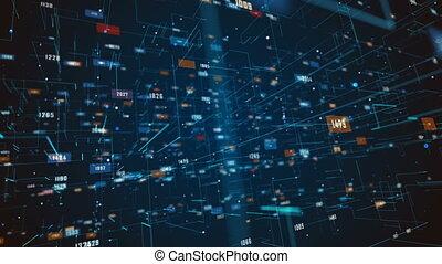 science, résumé, fond, globalisation, technology.