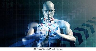 science, résumé, futuriste
