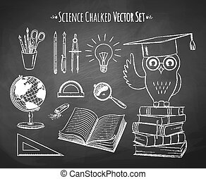 science, set., vecteur
