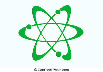 Photgraph of a science symbol