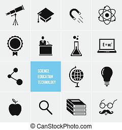 science, technologie éducation, ve
