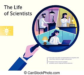 science, vie, résumé, composition