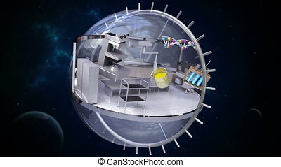 Sciences Laboratory in sphere 2
