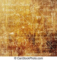 Scientific Background - An Old Grunge Scientific Background...