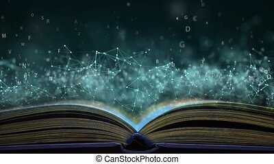 Scientific book. Clever book with the secrets of the ...