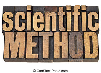 scientific method in wood type