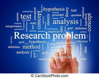Scientific research. - The concept of scientific research.