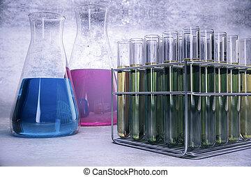 Scientific research wallpaper