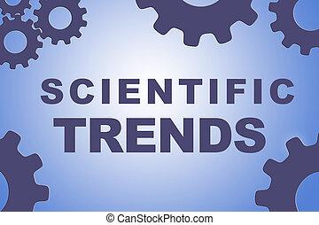 SCIENTIFIC TRENDS concept