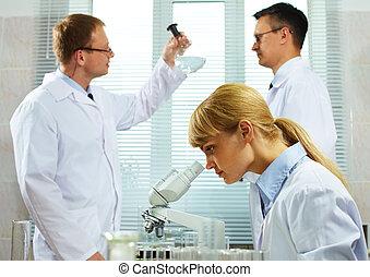 scientifique, équipe