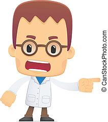 scientist., διατυπώνω , διάφορος