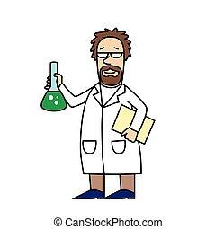 Scientist at Work.