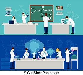Scientist Banner Set