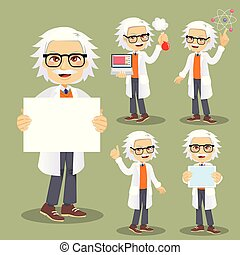 Scientist Character Actions