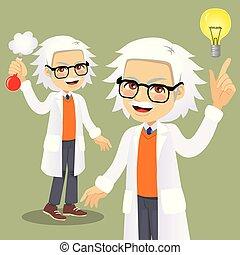 Scientist Idea Character