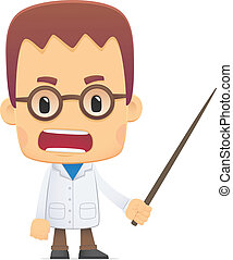 scientist. in various poses for use in advertising,...