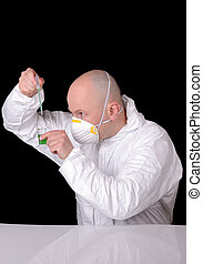 scientist working