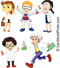 Scientists and doctors