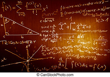 scienza, fisica, matematica