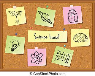 scienza, fondo