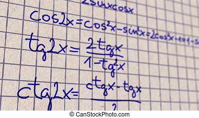 scienza, matematica, 3