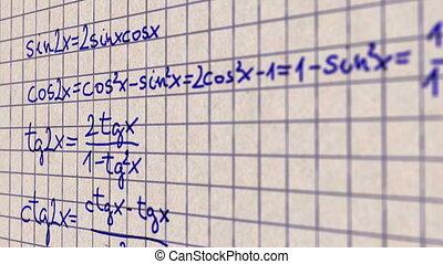 scienza, matematica, 4