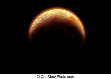 scifi, pianeta, 2