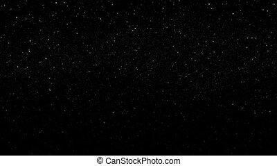 scintillement, étoiles, galaxie, boucle