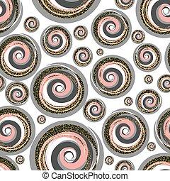 scintillement, résumé, pattern., seamless, or