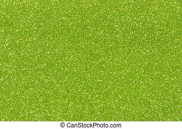 scintillement, texture, fond, résumé, vert