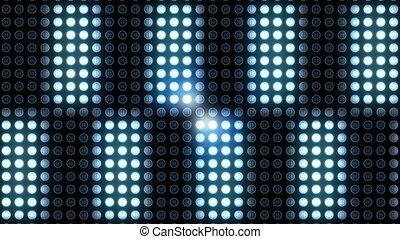 scintiller, lumière nuit, club