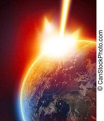 sciopero, meteora