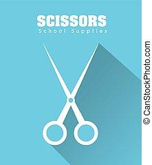 Scissor icon design