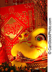 scissor, knippen, artworks, chinese draak