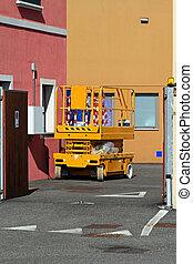 Scissor lift - Aerial work platform for maintenance and...