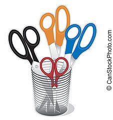 Scissors Collection - Long blade scissors (dressmaker shears...