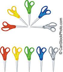 scissors color set 01
