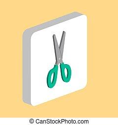Scissors computer symbol