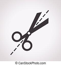 Scissors icon