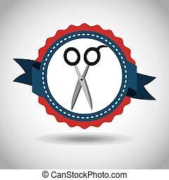 scissors icon design