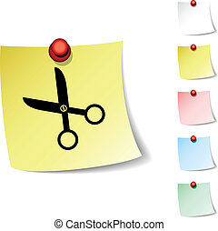 scissors icon.