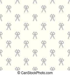 Scissors pattern vector seamless